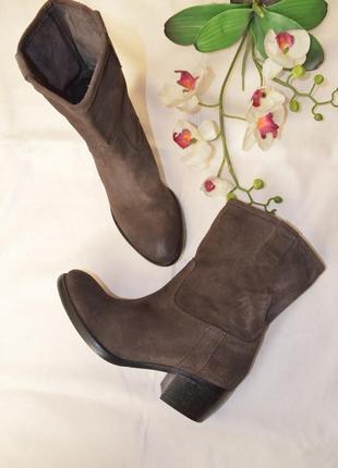 Ботинки осень весна кожаные замшевые 38 размер allsaints португалия