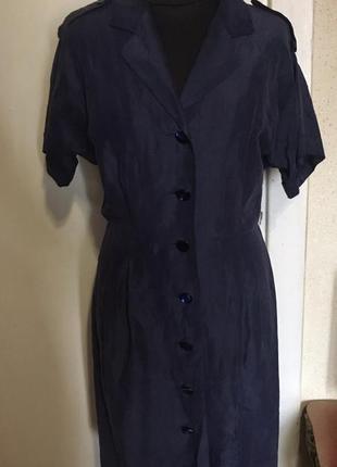 Шелковое платье max mara