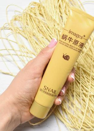 Крем для рук images snail hand cream с муцином улитки и маслом ши