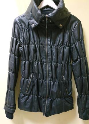 Куртка женская  эко-кожа cache cache