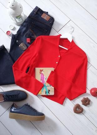 Marc cain дизайнерский короткий свитерок вискоза