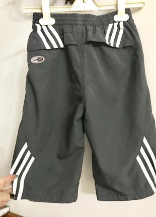Спортивные шорты, бриджи adidas clima cool, 8-10 лет.