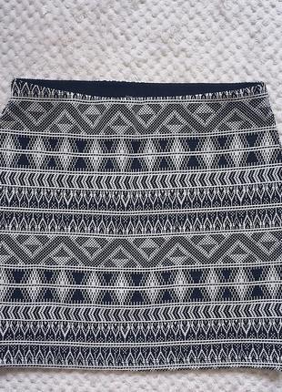 Короткая юбка bershka обтягивающая