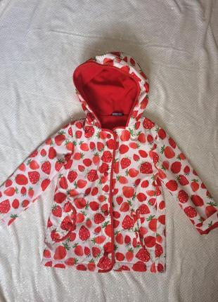 Ветровка пальто плащ детское для девочки