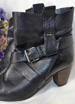 Сапоги ботинки 37 размер весна осень post xchance кожаные