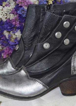 Сапоги ботинки кожаные 38 размер италия dkode