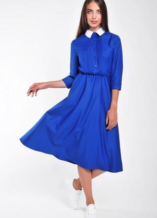 Платье с рубашечным верхом: р. 36,38,403 фото