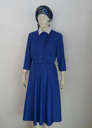 Платье с рубашечным верхом: р. 36,38,404 фото