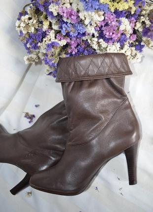 Ботинки сапоги кожаные 38 размер worthinaton италия