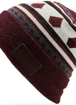 Шапка бини. volcom. сша. очень тёплая шапка. сноуборд.