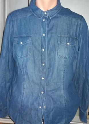 Джинсовая рубашка esmara