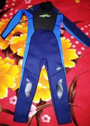 Детский гидрокостюм waihui, 9-10лет