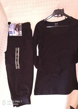 Esmara комплект костюм,капри кофта,для дома,спорта или отдиха,м рр
