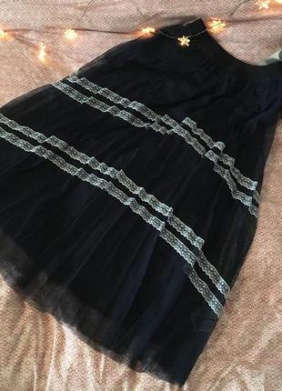 Фатиновая юбка reserved с кружевами