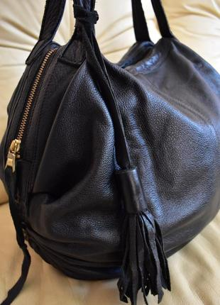 Vip – роскошная кожаная сумка – 100% натуральная кожа теленка - китица
