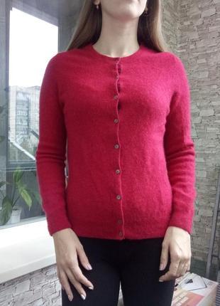 Теплый кашемировый джемпер свитер кофта