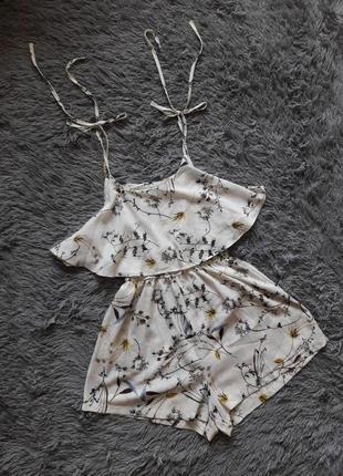 Ромпер, комбинезон, платье