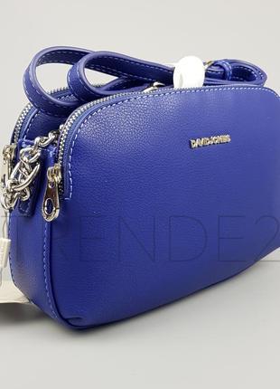Бесплатная доставка #5918-2 blue david jones хит продаж стильный клатч на 3 отделения