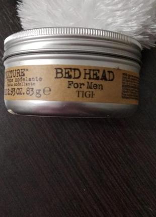 Моделирующая паста для волос bed head tigi men!