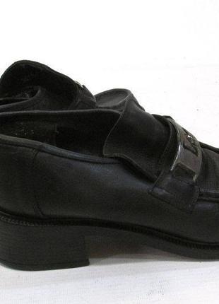 Икарнешие брендовые туфли из настоящей кожи