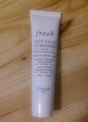 Гель для умывания fresh soy cleanser 20 мл