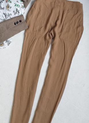 Мега крутые стильные брюки штаны из красивой падающей ткани от mango