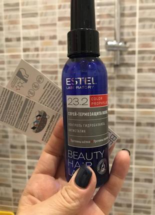 Спрей-термозащита для волос estel beauty hair lab, кондиционер