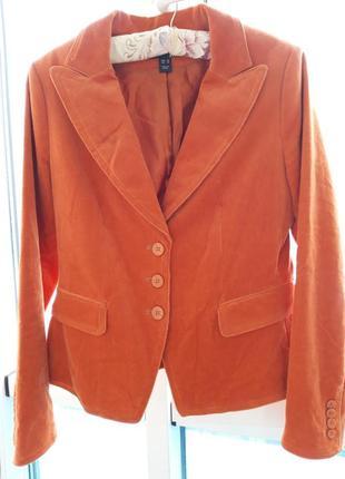 Вильветовый жакет /пиджак