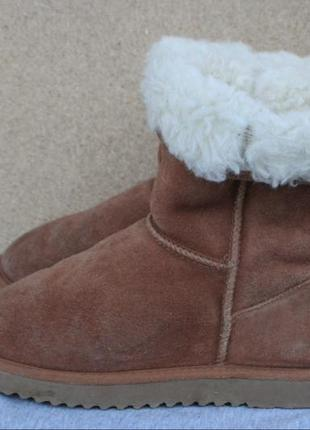 Угги ukala замша австралия 39р ботинки зимние