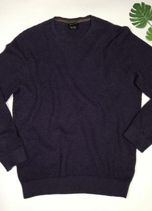 Простой базовый свитер с кашемиром от massimo dutti размер xl/42/50.