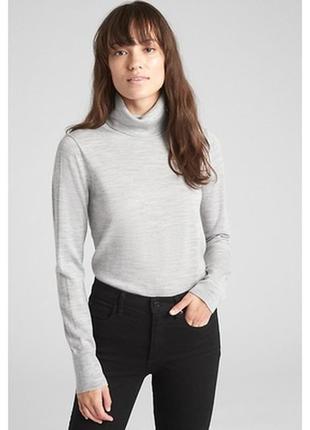 H&m premium свитер из мерино шерсти гольф водолазка studio