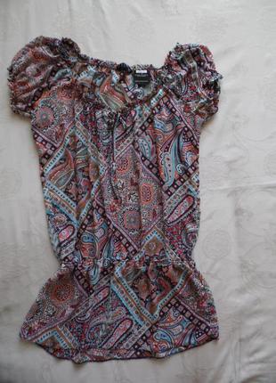 Блуза туника лето, новая dorothy perkins  размер 16(44) – идет на 50-52