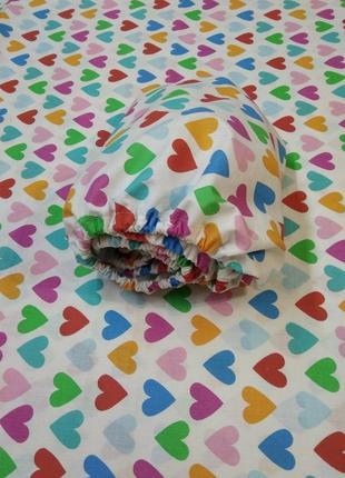 Простынь на резинке в детскую кроватку1 фото