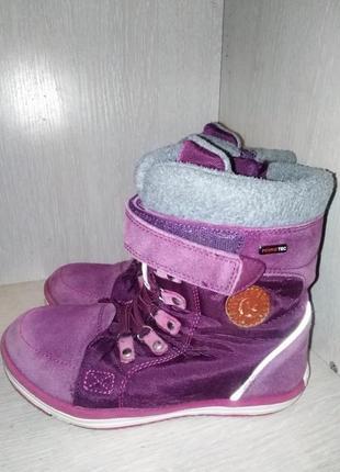 Обалденные ботинки на девочку reima tex