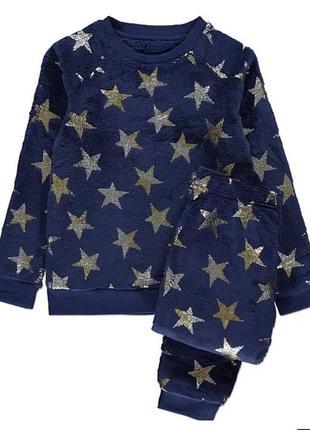 Пижама велюровая,теплая george