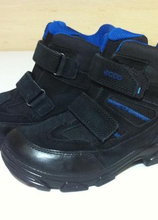 Зимние сапоги ,ботинки ecco с мембраной gore-tex р. 34 ст. 21,5 см оригинал !!!