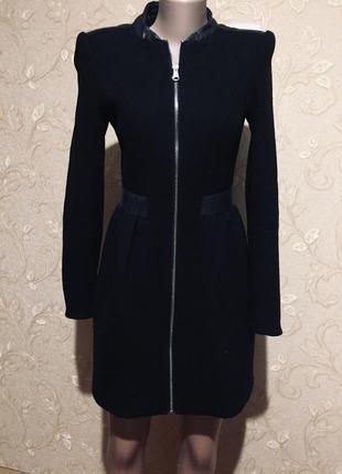 Пальто кашемирове zara
