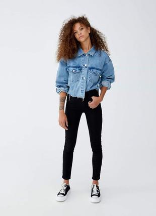 Pull&bear джинсы черные
