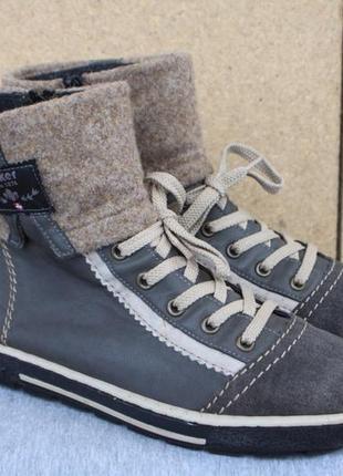 Зимние ботинки rieker германия 38р