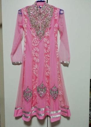 Карнавальный костюм, наряд восточной красавицы,жасмин. шахерезады, на 10-12лет