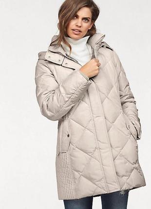 Роскошное пальто пуховик удлиненная куртка от fuchs schmitt