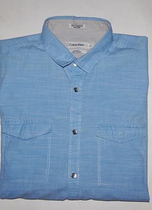 Рубашка calvin klein casual , размер m-48 ,оригинал!