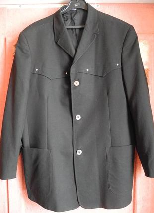 Пиджак versace летний р. 40 (52) хлопок