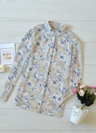 Ніжна блуза в квіти miss selfridge.