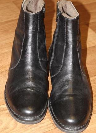 Зимние ботинки на цигейке sioux 43-44