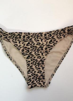 Леопардовый купальник, трусики atmosphere м/10.