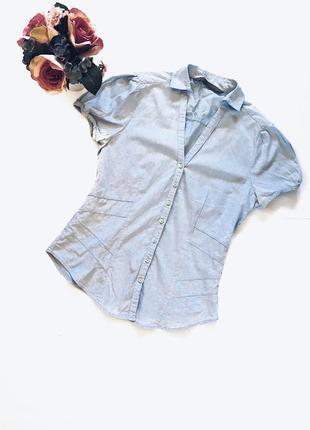 Шикарная рубашка(блуза) идеал! s-m размер