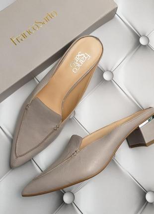 Franco sarto оригинал кожаные туфли мюли бренд из сша