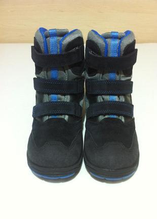 Зимние сапоги ,ботинки ecco с мембраной gore-tex р. 34-35 ст. 22 см оригинал !!!3