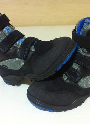 Зимние сапоги ,ботинки ecco с мембраной gore-tex р. 34-35 ст. 22 см оригинал !!!2